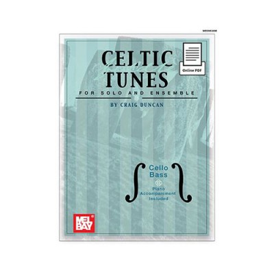 MEL BAY DUNCAN CRAIG - CELTIC FIDDLE TUNES FOR SOLO AND ENSEMBLE, CELLO BASS - CELLO