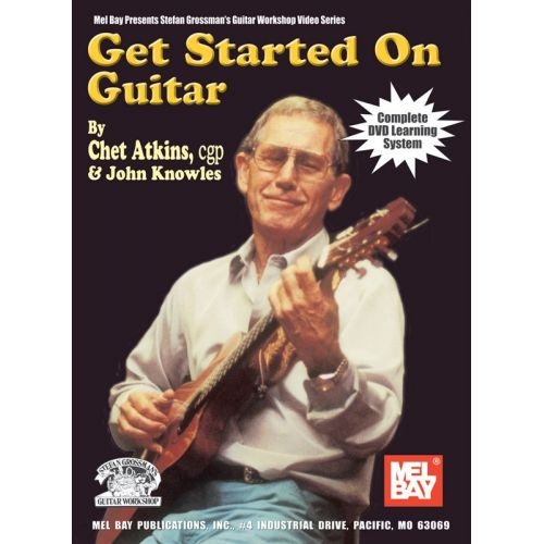 MUSIC SALES ATKINS CHET - GET STARTED ON GUITAR - GUITAR