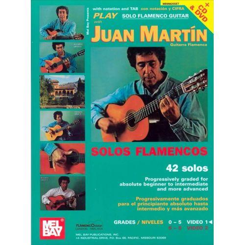 MEL BAY JUAN MARTIN - SOLOS FLAMENCOS (+ CD & DVD)