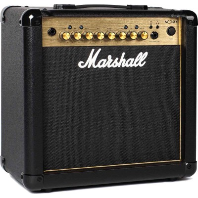 MARSHALL MG15GFX GOLD