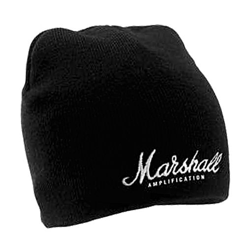MARSHALL BEANIE WITH EMBROIDERED LOGO