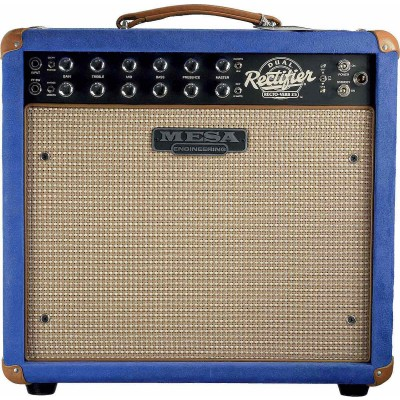 MESA BOOGIE AMPLISED LAMP GUIDE ON ORDER 25 W, BLUE SUEDE/CREAM TAN