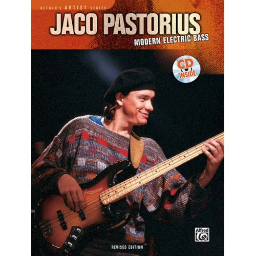 ALFRED PUBLISHING JACO PASTORIUS - MODERN ELECTRIC BASS + CD