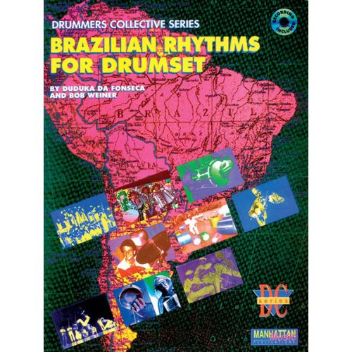 ALFRED PUBLISHING DA FONSECA DUDUKA - BRAZILIAN RHYTHMS FOR DRUMSET + CD - DRUM