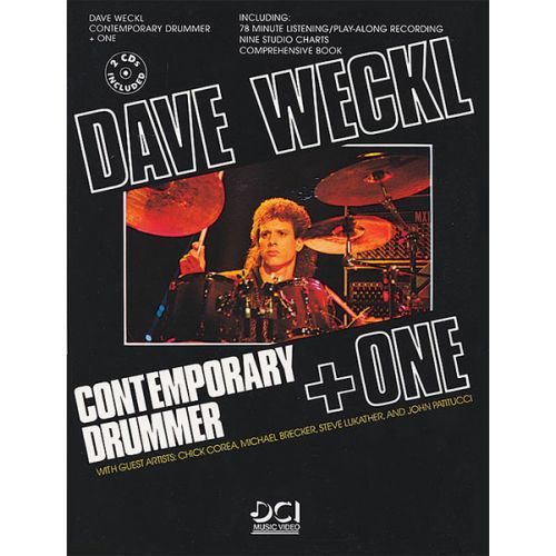 ALFRED PUBLISHING WECKL DAVE - CONTEMP DRUM PLUS ONE + 2CDS - DRUM