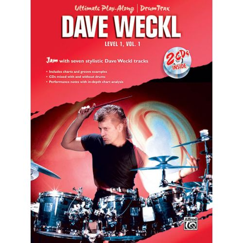ALFRED PUBLISHING WECKL DAVE - ULTIMATE PLAY-ALONG DRUMS LEVEL 1 VOL.1 + 2CD - DRUM