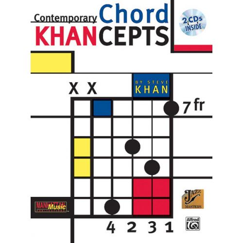 ALFRED PUBLISHING KAHN STEVE - KHANCEPTS + 2CD - GUITAR