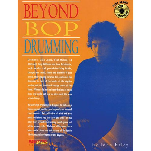 ALFRED PUBLISHING BEYOND BOP DRUMMING + CD - DRUM