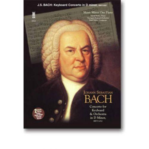 MMO BACH J.S. - PIANO CONCERTO IN D MINOR + CD - PIANO