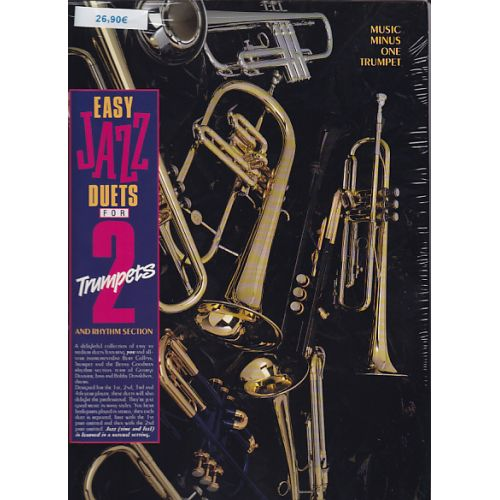MMO EASY JAZZ DUETS FOR TWO TRUMPETS AND RHYTHM SECTION