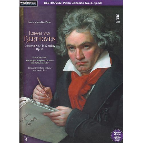 MMO BEETHOVEN L. VAN - CONCERTO N+ 4 I G MAJOR OP. 58 + 2 CD