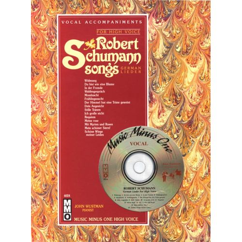 MMO SCHUMANN R. - SONGS FOR HIGH VOICE + CD