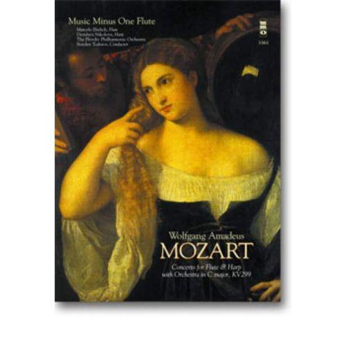 MMO MOZART W. A. - FLOETENKONZERT C-DUR KV299 + CD