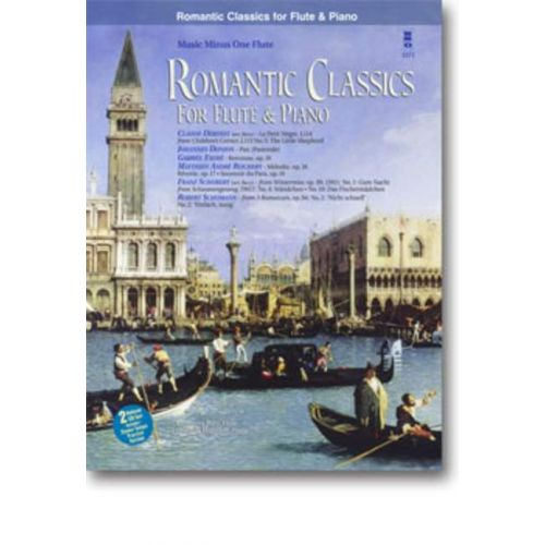 MMO ROMANTIC CLASSICS FOR FLUTE AND PIANO + 2 CD