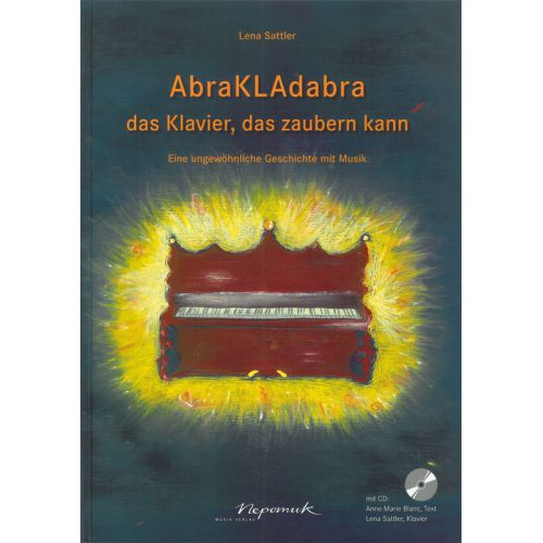 EDITION BREITKOPF SATTLER LENA - ABRAKLADABRA + CD - PIANO