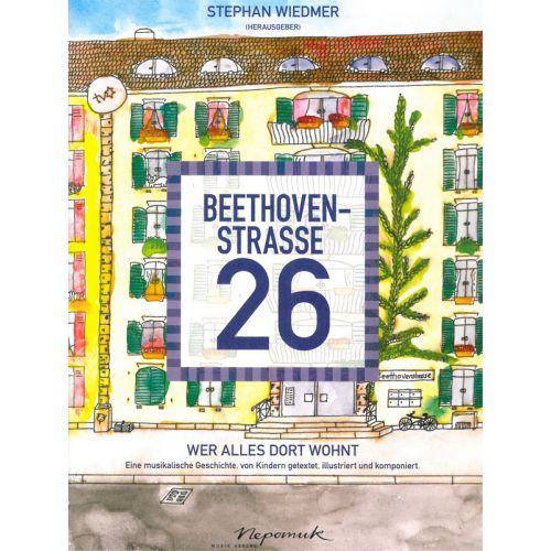 EDITION BREITKOPF WIEDMER STEFAN - BEETHOVENSTRASSE 26 - PIANO