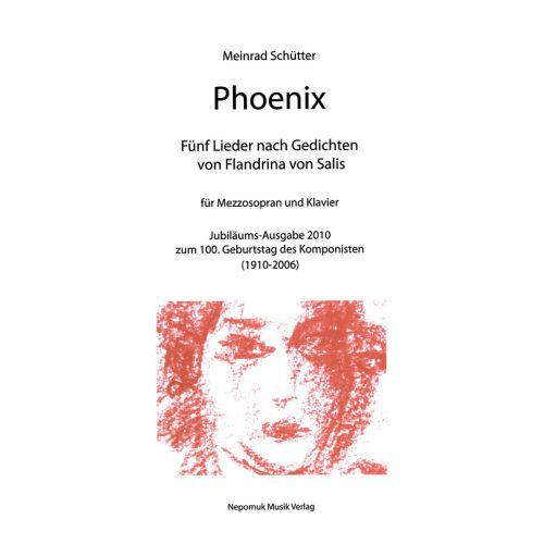 EDITION BREITKOPF SCHUTTER MEINRAD - PHOENIX - SOPRANO, PIANO