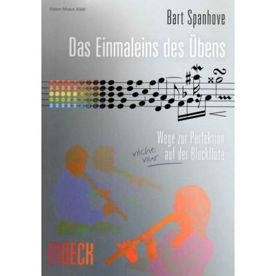 MOECK SPANHOVE B. - DAS EINMALEINS DES ÜBENS - FLÛTE A BEC