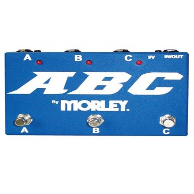 MORLEY ABC SELECTOR/COMBINER SWITCH ROUTING BLEUE