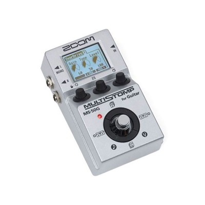 ZOOM MS-50G COMPACT MULTI-EFFECTS PEDAL FOR GUITAR