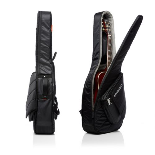 Mono housse guitare acoustique m80 sleeve black for Housse guitare acoustique