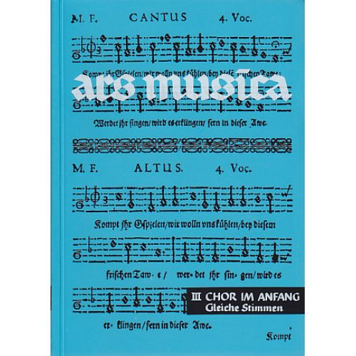 MOSELER ARS MUSICA VOL. 3 - VOIX EGALES