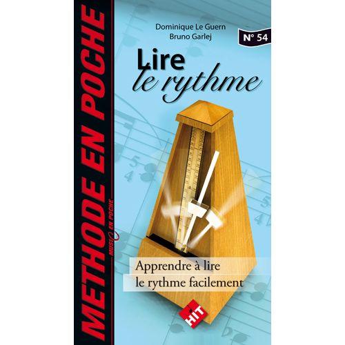 HIT DIFFUSION GARLEJ B. / LE GUERN D. - LIRE LE RYTHME - MUSIC EN POCHE N°54