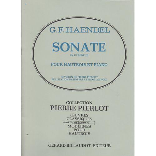 BILLAUDOT HAENDEL - SONATE EN UT MINEUR - HAUTBOIS