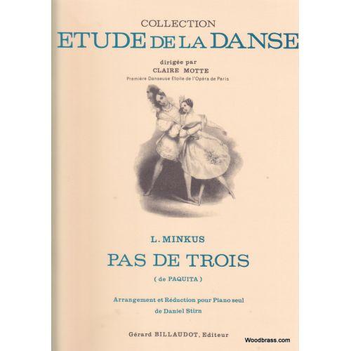 BILLAUDOT MINKUS - PAS DE TROIS DE PAQUITA - PIANO
