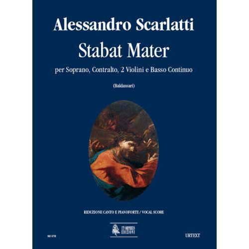 UT ORPHEUS SCARLATTI ALESSANDRO - STABAT MATER - SOPRANO, CONTRALTO, 2 VIOLINS, CONTINUO