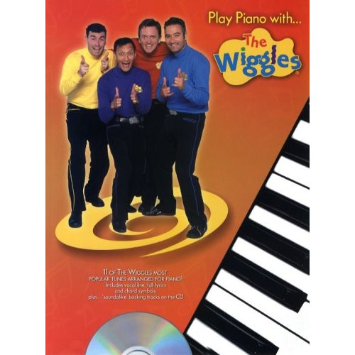 WISE PUBLICATIONS PLAY PIANO WITH...THE WIGGLES CD - PVG