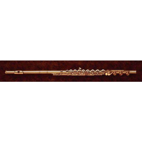 Gold or platinium Flutes