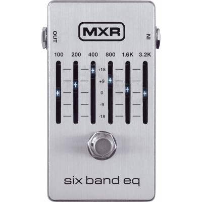 MXR M109S 6 BAND GRAPHIC EQUALIZER