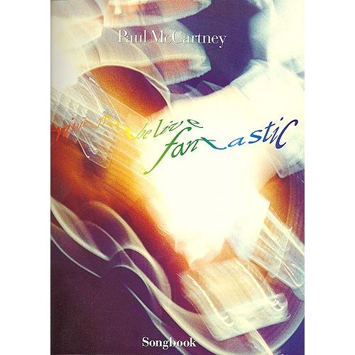 MUSIC SALES PAUL MCCARTNEY - TRIPPING THE LIVE FANTASTIC - PVG