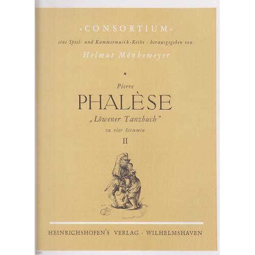 HEINRICHSHOFEN PHALESE P. - LÖWENER TANZBUCH VOL. II
