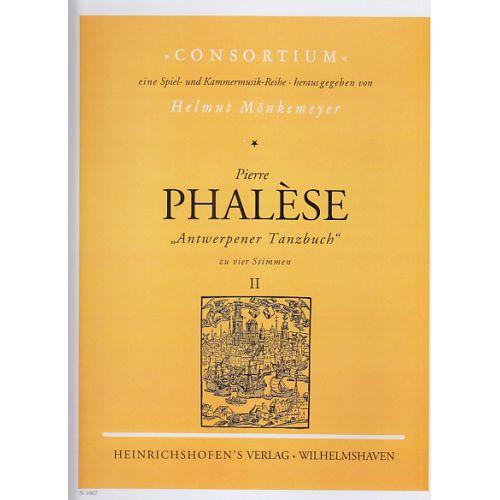 HEINRICHSHOFEN PHALESE P. - ANTWERPENER TANZBUCH VOL. II