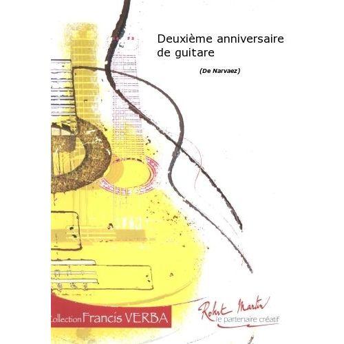 ROBERT MARTIN NARVAEZ - DEUXIÈME ANNIVERSAIRE DE GUITARE