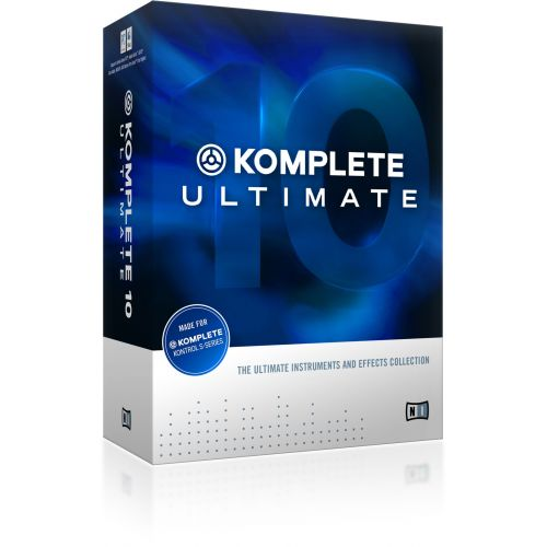 NATIVE INSTRUMENTS KOMPLETE 10 ULTIMATE - KOMPLETE ULTIMATE 8 AND 9 UPDATE