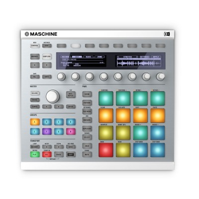 NATIVE INSTRUMENTS MASCHINE MK2 WEISS
