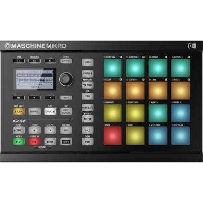 NATIVE INSTRUMENTS MASCHINE MIKRO MK2 NOIRE
