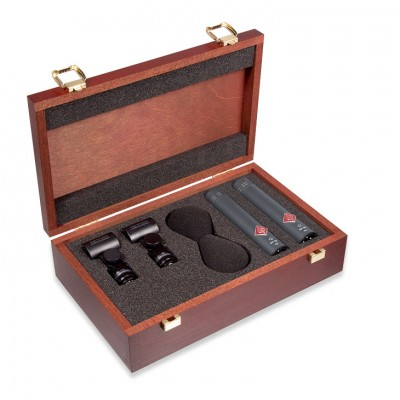 Microfones de Condensador de Membrana Pequena