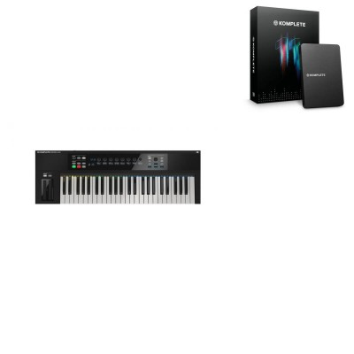 NATIVE INSTRUMENTS KOMPLETE 11 UPGRADE K SELECT + KOMPLETE KONTROL S49MK2