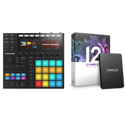 NATIVE INSTRUMENTS MASCHINE MK3 + KOMPLETE 12 ULTIMATE UPGRADE