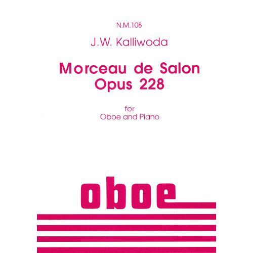 SPARTAN PRESS MUSIC KALLIWODA J.W. - MORCEAU DE SALON - HAUTBOIS ET PIANO