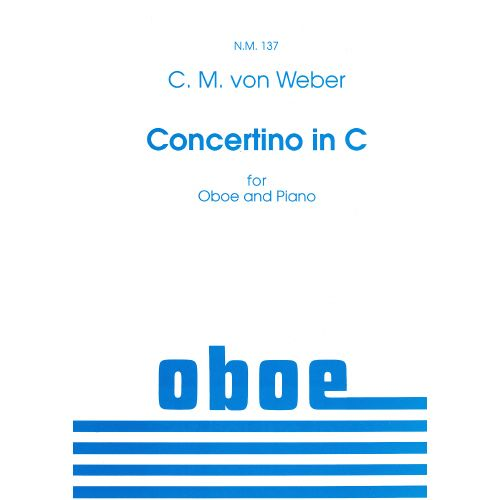 SPARTAN PRESS MUSIC WEBER C.M. (VON) - CONCERTINO IN C - HAUTBOIS ET PIANO