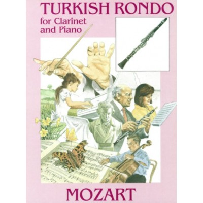 NOVA MUSIC MOZART W.A. - TURKISH RONDO - CLARINET & PIANO
