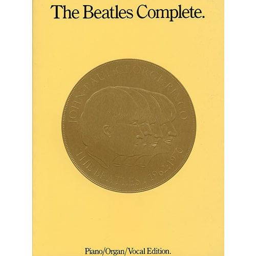 HAL LEONARD CONNOLLY RAY - THE BEATLES COMPLETE - PIANO/ORGAN/VOCAL - ORGAN