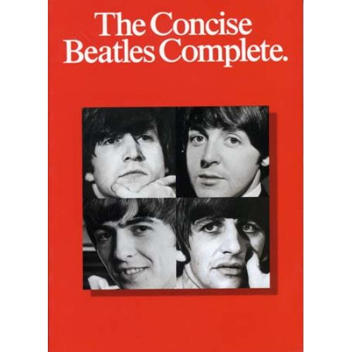 WISE PUBLICATIONS BEATLES - CONCISE COMPLETE - CHANT ET GUITARE