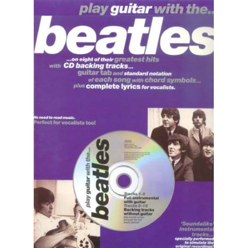 WISE PUBLICATIONS PLAY GUITAR WITH... BEATLES VOL.1 + CD
