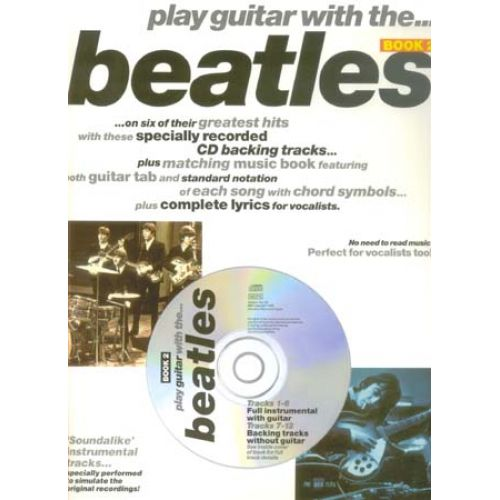 WISE PUBLICATIONS PLAY GUITAR WITH THE BEATLES VOL.2 + CD